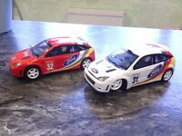 Scalextric Ford Focus Rally Championship Cars