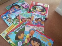 Collection of French books - Dora
