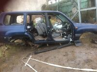 Toyota landcruiser amazon 4.2diesel complete exhaust with cat and chasis
