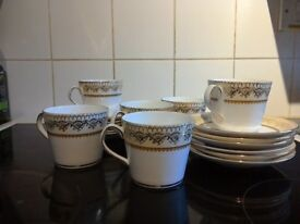 """Elizabethan"" Swiss Cottage Design Tea Set - 18 piece"
