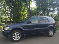 2000 mercedes ml270 cdi auto blue