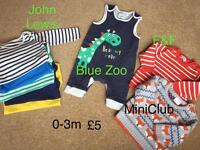 0-3m boys' clothes