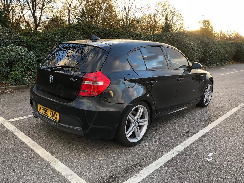BMW 1 Series 130i M Sport 5 door Black | in Plaistow, London | Gumtree