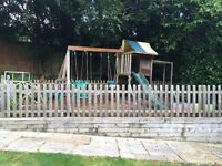 Children outdoor play centre.