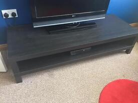 Black Lack TV table stand