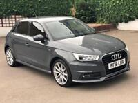 2016 AUDI A1 1.6TDI S-LINE 10,500 MILES DAMAGED REPAIRED