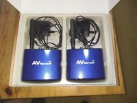 Wireless A/V (Audio Video) Transmitter and Receiver AV Sender