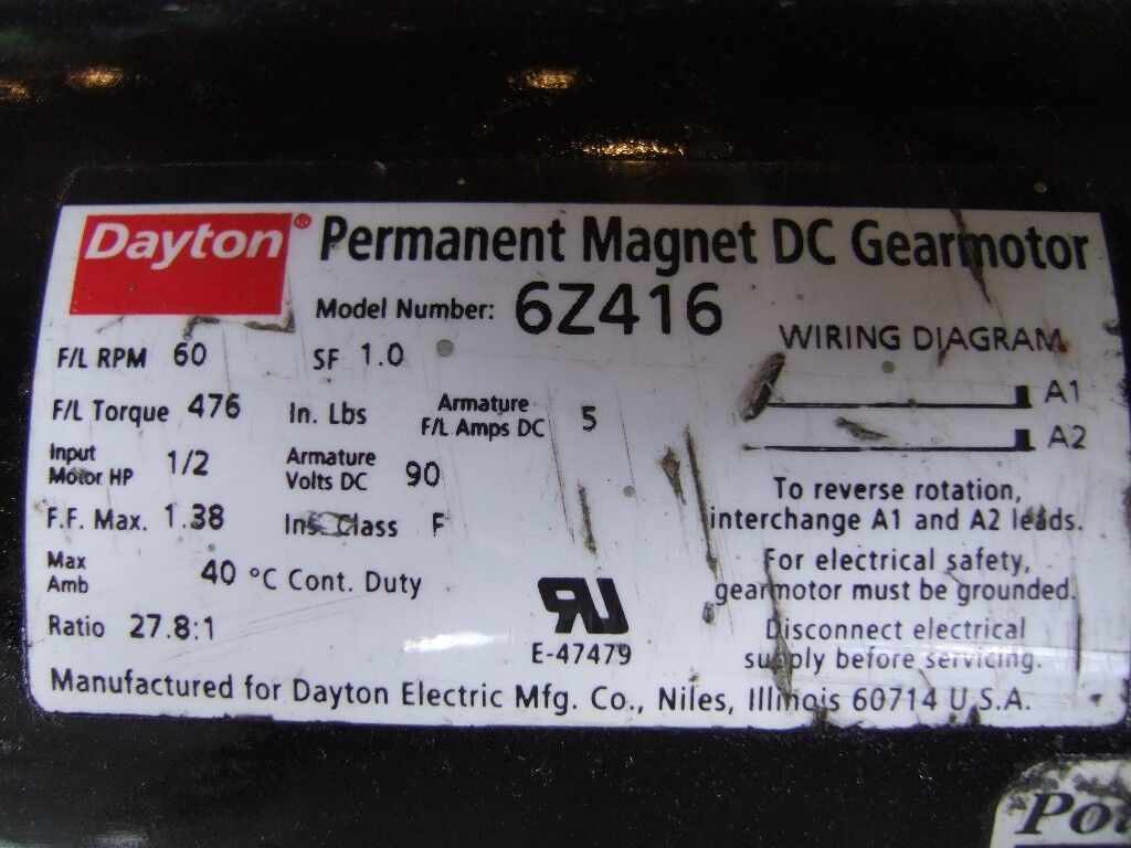 Electric Dc Motor Industrial Variable Speed With Gearbox And Drive Permanent Magnet Wiring Diagram Unit