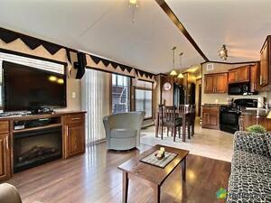 138 000$ - Maison mobile à vendre à St-Ambroise Saguenay Saguenay-Lac-Saint-Jean image 6