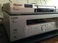 Sony Receiver and Pioneer Dvd