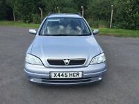 Vauxhall Astra ls Estate dti Turbo Diesel 2.0cc 100bhp 5 door x reg 2000 1 former keeper 218k full s