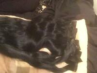 Jet black hair extensions ✨✨✨✨