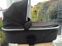 Mamas And Papas urbo 2 tweed carry cot