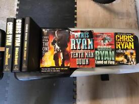 Chris Ryan books x 7