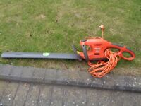 Flymo double edged electric hedge trimmer