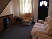 2 beds with mattresses for sale, sofa and 2 armchairs, table and chairs, collect only