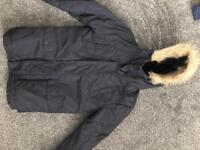 Boys parka coat Age 10