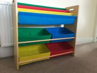 Colourful Toy Storage Unit