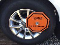 Excalibur Caravan Alko wheel lock, excellent condition, used once.