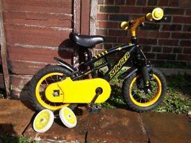 12 inch kids bike with stabilizers Stinger