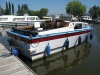 24ft cabin boat