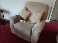 HSL upholstered electric easy uplift reclining chair