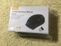 2.4GHz Wireless mouse still in packaging.