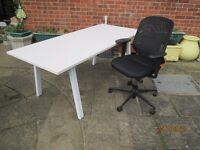 office desk and chair good quality high spec chair