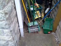 Collection of good quality garden tools surplus to requirements moving to flat