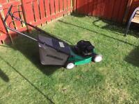 Petrol lawnmower £25