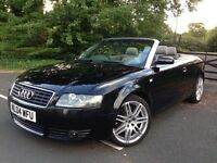 2004 Audi A4 Cabriolet 1.8 Manual cheap to run and insure