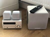 Denon Mini HiFi with Cambridge Audio Speakers