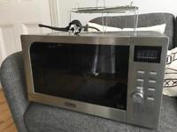 Delonghi AC925EFY St Steel Combination Microwave and Grill