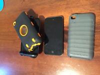 iPod 4gen 8gig and cases