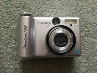 Canon Powershot A95 5.0mp 3.0x Optical Zoom Digital Camera