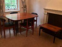 Four Vintage Schreiber Dining Chairs