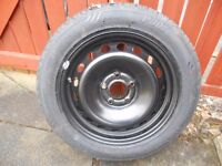 Wheel and Tyre for Renault Megane - 205/55ZR16