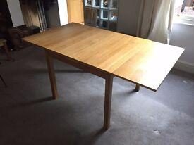 Ikea KLOFFSTA Oak Dining Table