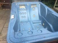 Hot tub spaform 3 seater cover included bargain