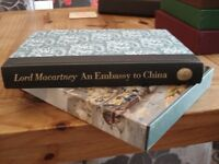 Folio Society Book - Lord Macarthey, An Embassy To China