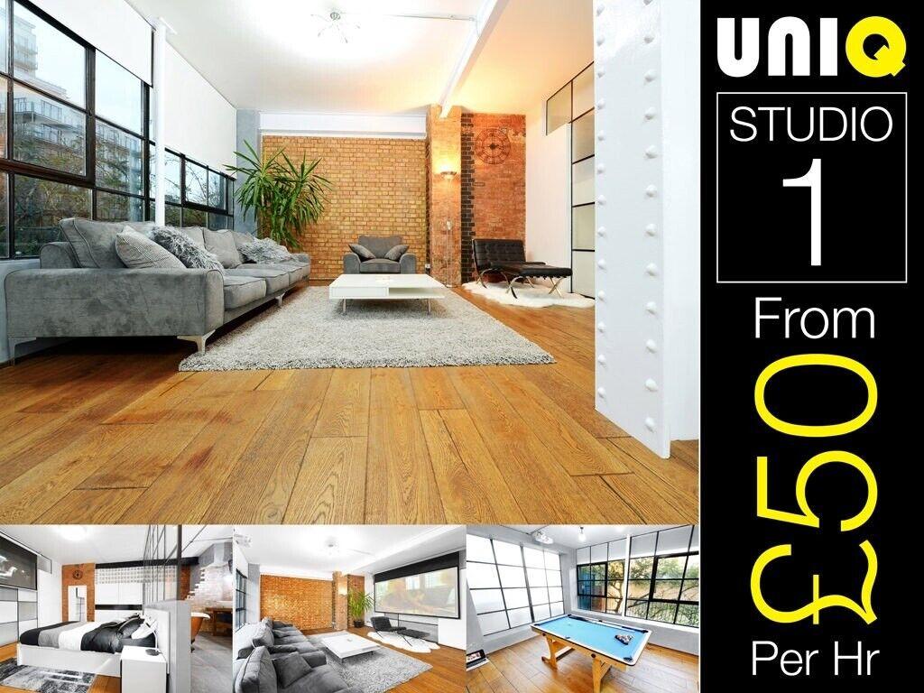 Luxury Warehouse Apartment Lifestyle Location Photo Video Film Studio E Hire London