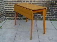 FREE DELIVERY Retro Dropleaf Table Vintage Furniture