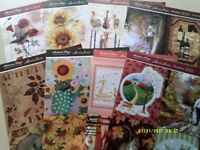 ARTS & CRAFT / CARD MAKING TOPPER / DECOUPAGE SHEETS