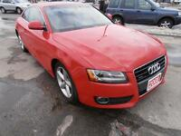 2008 Audi A5 Quattro Leather Sunroof Navi Coupe Red  AWD V6