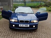 CHEAP 2003 BMW 318 CI COUPE BLUE With Black Interior.