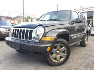 2006 Jeep Liberty Limited /  128, 868 KMS!!!! / LOADED / LEATHER