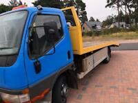 Mitsubishi canter recovery truck 3.0td in great condition 11 months mot
