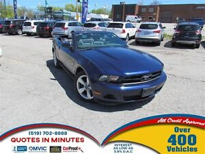 2011 Ford Mustang CONVERTIBLE   LEATHER   SUMMER READY