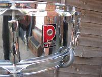 "Drums - Vintage Premier 1005 Snare Drum - 14"" x 5"""