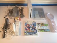 Nintendo Wii bundle tested and working